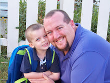 My Two Favorite Boys ~ My husband & son