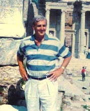 Good old dad, still going strong at seventy-one in Istanbul, 1993