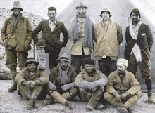 In cotton and wool on Everest 1924