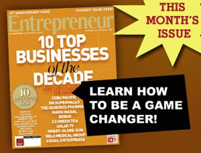 SCRAMBLE KING ON ENTREPRENEUR MAGAZINE