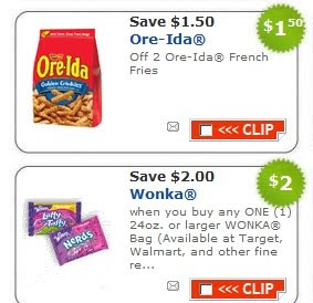 image regarding Printable Candy Coupons titled Rush! $2 off Sweet Printable - My Frugal Adventures