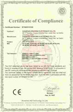 ISO 9001 certification for advertisement only