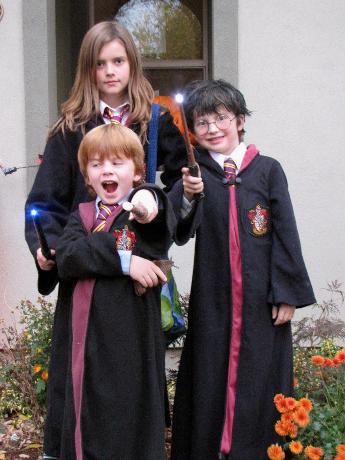 Williams fam 5 halloween 2010 - Hermione granger and ron weasley kids ...