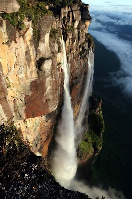 Pictures Of The Angel Falls Waterfall
