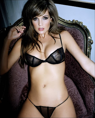 Hot Danielle Lloyd In A Thong Photos