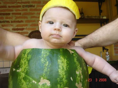 Pics Of Baby In Melon