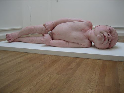 New Born Baby Sculpture