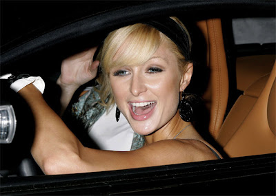 Paris Hilton Exposed by Papparazzi  Photo Gallery