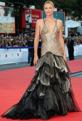 Charlize Theron Oscars & Film Festival Dresses