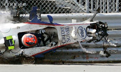 Well, F1 Accidents, not so Unusual