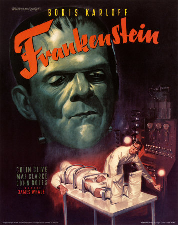 i, frankenstein movie poster  Cinema Of The Fantastic