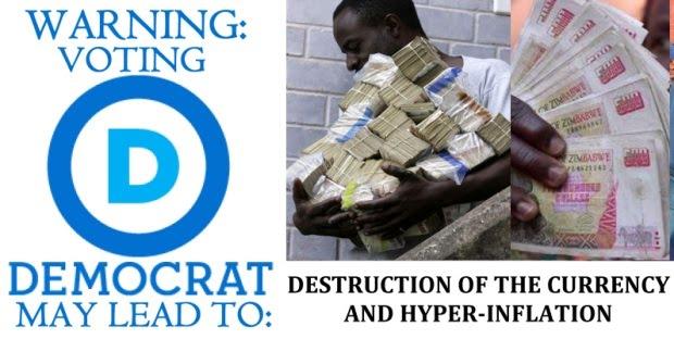 Democrat Warning Label