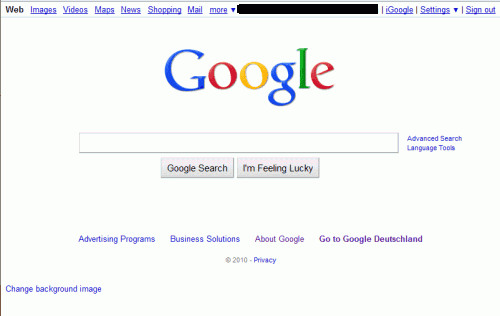 Zone c 243 mo cambiar el fondo de la p 225 gina principal de google search