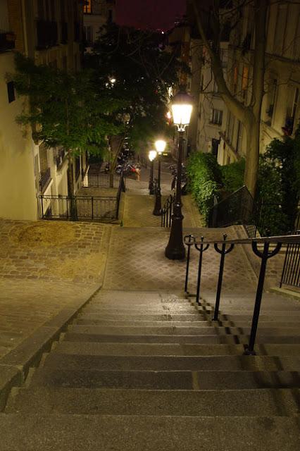 Parigi scala a Montmartre