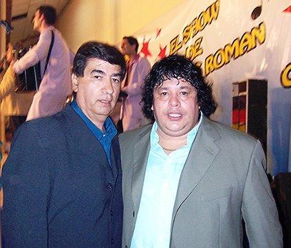 Junto a mi amigo Adrián Vargas