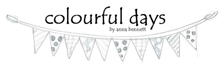 colourful days by anna bennett