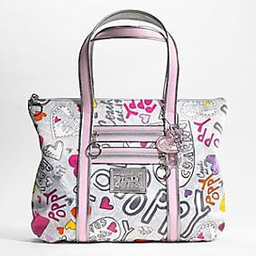 2129 authentic baggs nwt coach poppy graffiti glam tote purse nwt coach poppy graffiti glam tote purse mightylinksfo