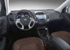 Hyundai ix35 painel de instrumentos