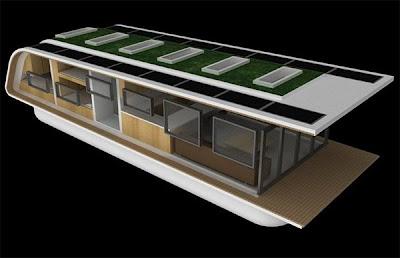 luxurious houseboats