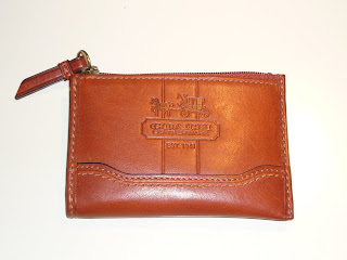 COACH Bleecker Leather Mini Skinny - Front View