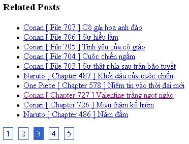 Tạo Bài viết liên quan