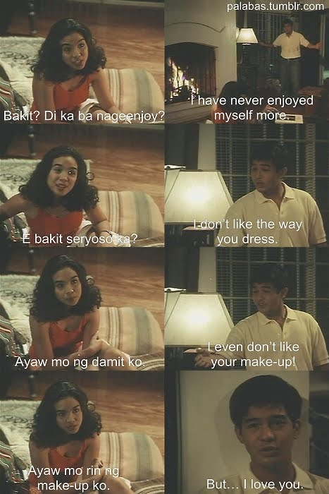 Image of: Hugot Quotes Dahil Mahal Na Mahal Kita wenn V Deramas Star Cinema 1998 Sweet Disposition Sweet Disposition Classic Pinoy Movie Lines