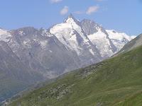 Le Grossglockner vu depuis le Schareck