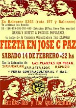 """SABADO 14/02 22 HS. - FIESTA EN JOSE C PAZ """"Unidxs somos hermanxs, latinx, latinxamericanx"""""""