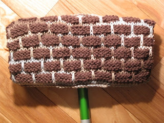 Knitting And Weaving Tidbits Knitted Swiffer Mop Cover