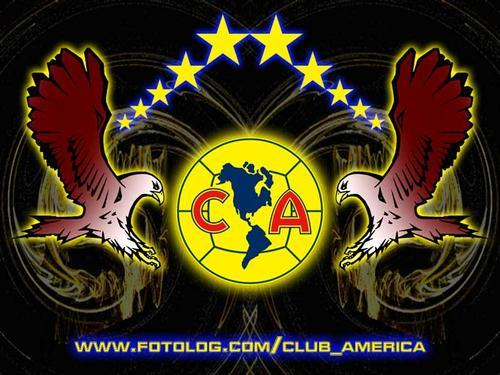 Download image Club America Soccer Team Logo PC, Android, iPhone and ... Soccer Backgrounds For Iphone