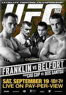 Mma Warlike Ufc 103 List Of Bars And Restaurants Showing Fight Card