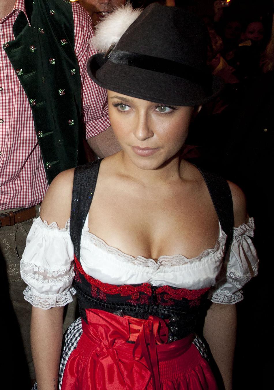 Oktoberfest orgy with busty milf - 3 part 4