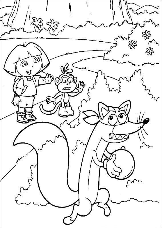 ... imprimir ou ver maior os desenhos da Dora, basta clicar nos desenhos