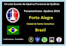 PANAMERICANO DE AJEDREZ 2010, PORTO ALEGRE BRASIL (01 al 08 de agosto 2010)