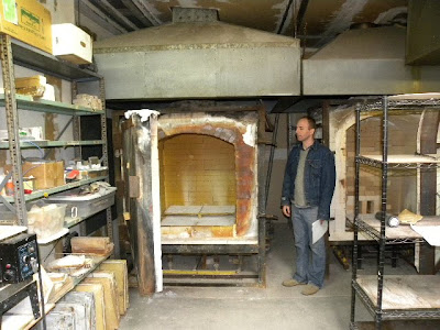 Leslie Ceramic Kiln Installation