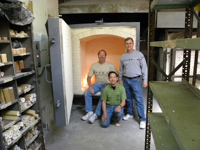 Ceramic Kiln Installation