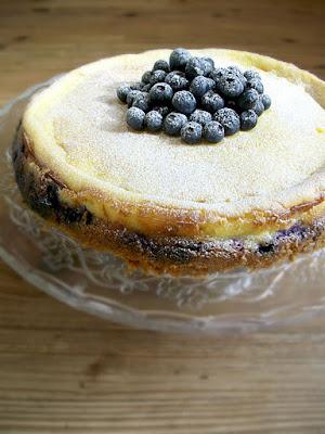 Sweet Melissa Sunday, Lemon Blueberry Cheesecake