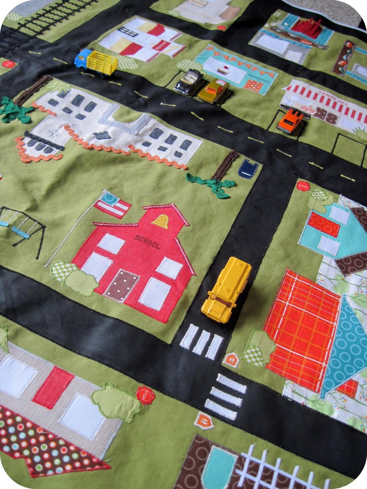 Детские коврики для игры своими руками