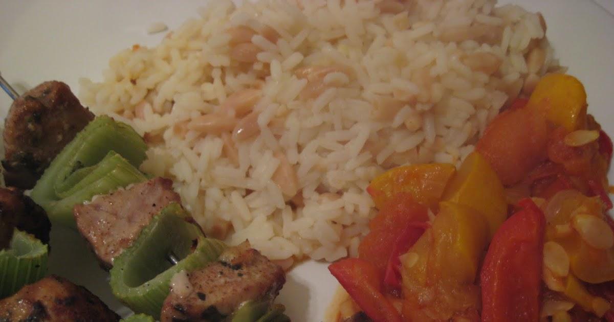 Lemon and Cheese: Marinated Tuna Kebabs