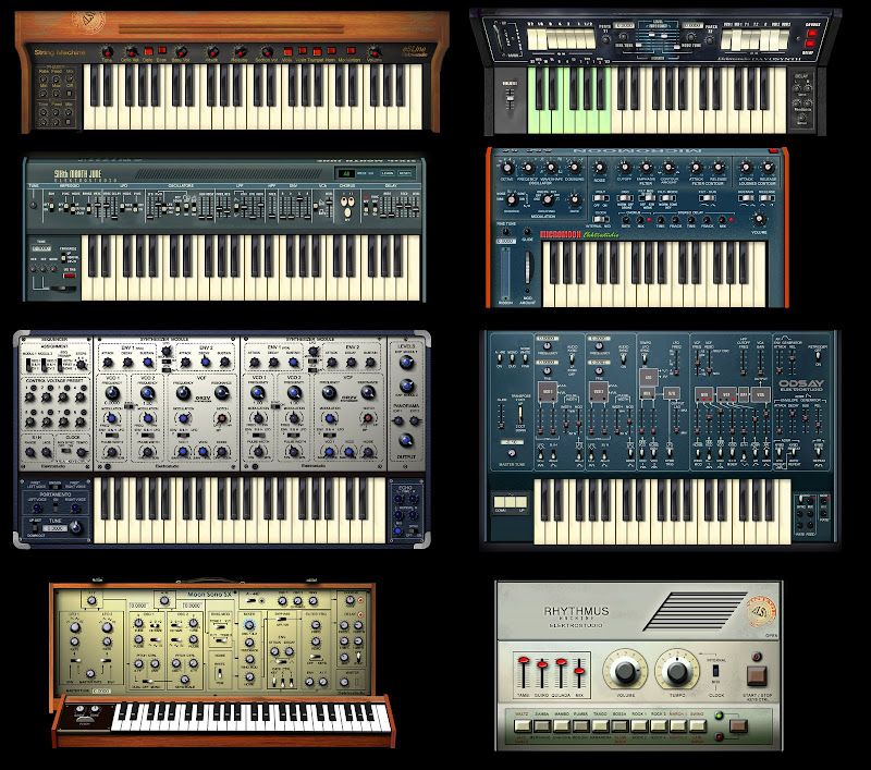 VST-Freeware: Elektro Studio Analog Pack
