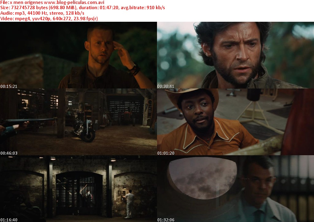 X Men Origins Wolverine 2009 Movie Download HD 720p