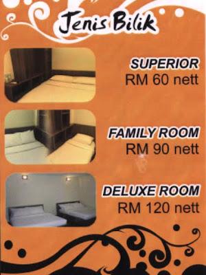 Hotel Ezi Inn Kuala Kangsar Kategori Bilik Di