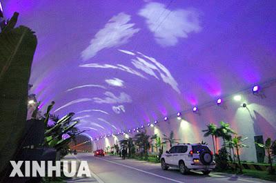 Cross-Qinling-Zhongnanshan Highway Tunnel