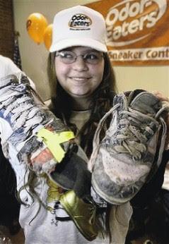 Katharine Tuck's sneakers
