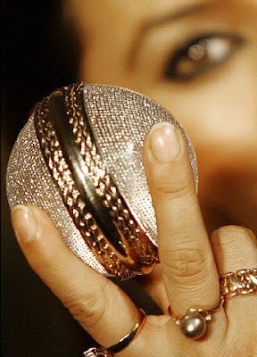Diamond studded cricket ball