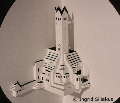Paper Cuttings by Ingrid Siliakus