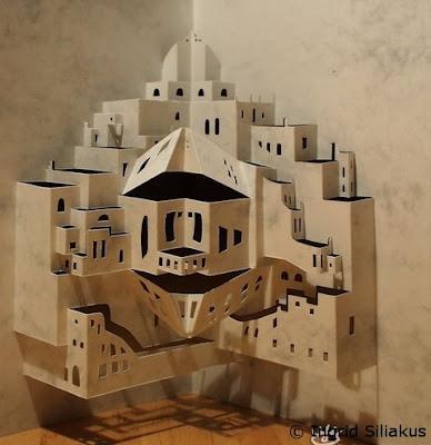 Paper Cuttings by Ingrid Siliakus