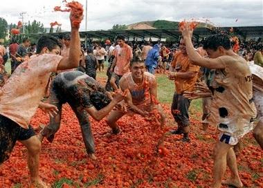 tomato fight