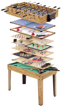 20-in-1 Multiplay Games Table