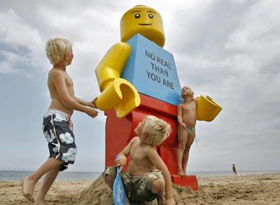 Giant Lego Piece
